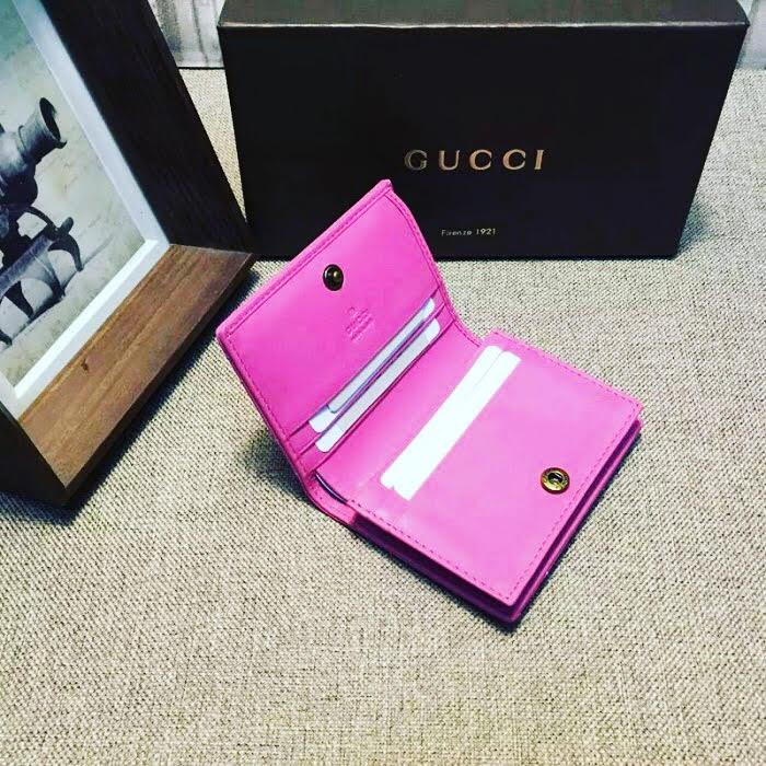 2018 Goals - Gucci Wallet