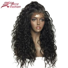 Dream Beauty - Non Remy Curly Wig - 21 inch Frontal Lace Wig