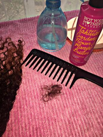 Taking care of curly wig 3